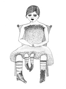 Four Legged Woman